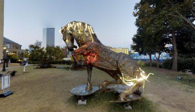Lux Maximus Fused Glass, Copper, Bronze & Metal | Daniel Oropeza 3D Model